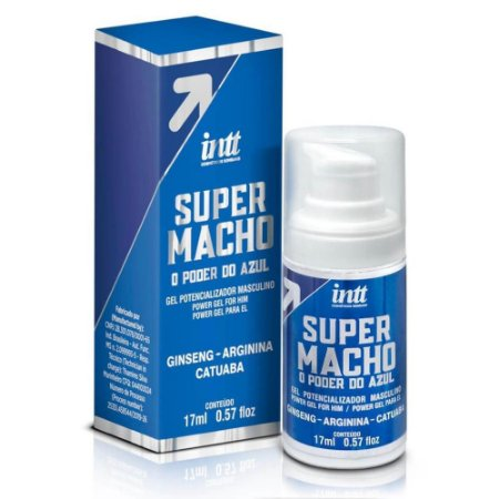 GEL POTENCIALIZADOR MASCULINO SUPER MACHO 17ML INTT