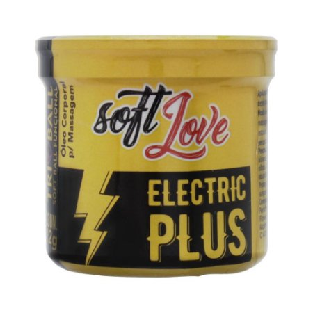 BOLINHA EXPLOSIVA ELECTRIC PLUS - SOFT LOVE 3 UN