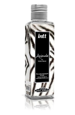 ÓLEO PARA MASSAGEM SENSUAL AFRODÍSIACO ANIMALS - INTT 130ML