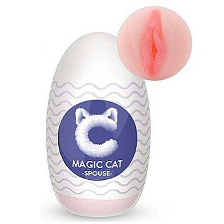 EGG EM CYBER SKIN COM FORMATO REALÍSTICO MAGIC CAT - SPOUSE