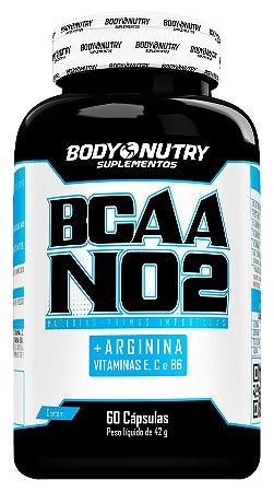 BCAA NO2 Arginina Body Nutry 60 cápsulas