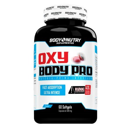 Oxy Body Pro Body Nutry 60 softgels