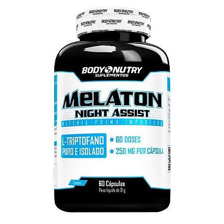Melaton Night Assist  Body Nutry 60 cápsulas