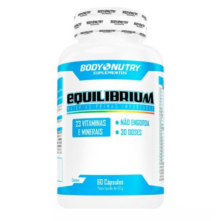Equilibrium Clinical Body Nutry 60 cápsulas