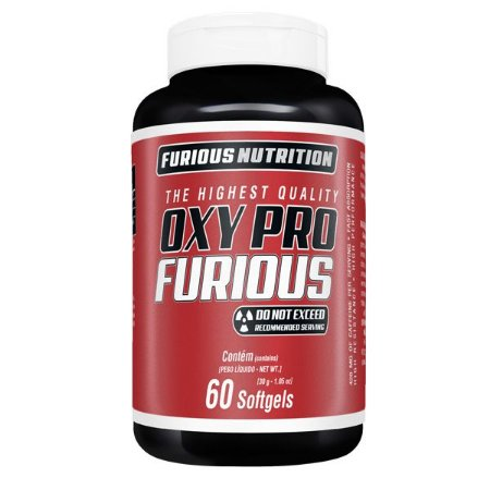 Oxy Pro Furious Furious Nutrition 60 softgels