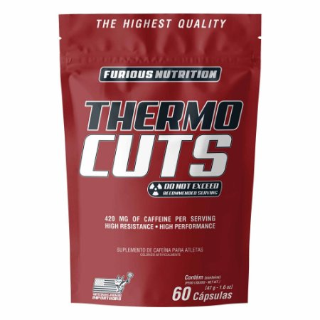 Thermo Cuts Furious Nutrition refil 60 cápsulas