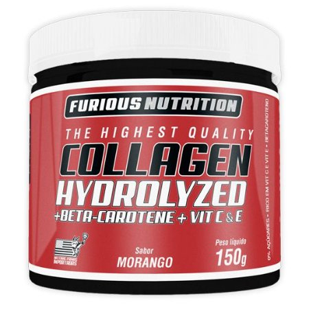 Colágeno Hidrolisado Furious Nutrition 150 g