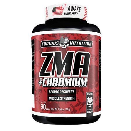 ZMA + Chromium Furious Nutrition 90 cápsulas