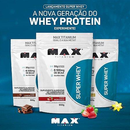 Super Whey Max Titanium 900 g