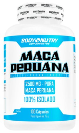 Maca Peruana Body Nutry 100 cápsulas