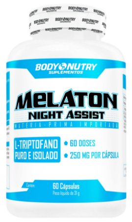 Melaton Night Assist Body Nutry 60 cápsulas