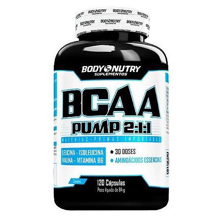 BCAA Pump 2:1:1 120 cápsulas