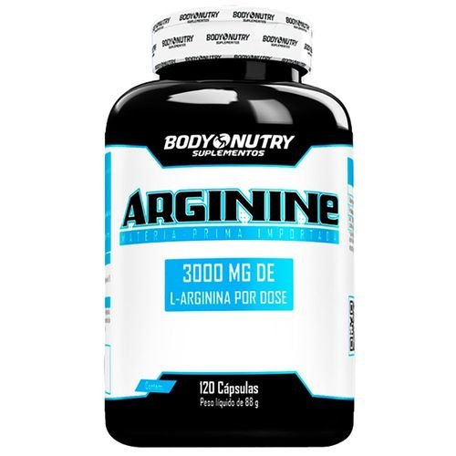 Arginine Body Nutry 120 cápsulas