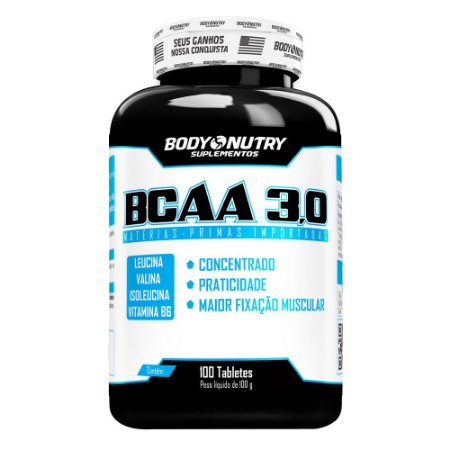 BCAA 3,0 Body Nutry 100 tabletes