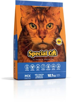 Special Cat Mix 10,1Kg - Gatos Adultos