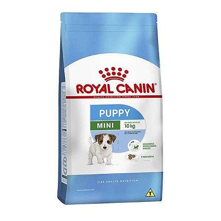 Royal Canin Mini Junior 1,0Kg - Cães Filhotes de Raças Pequenas de 2 a 10 Meses de Idade.