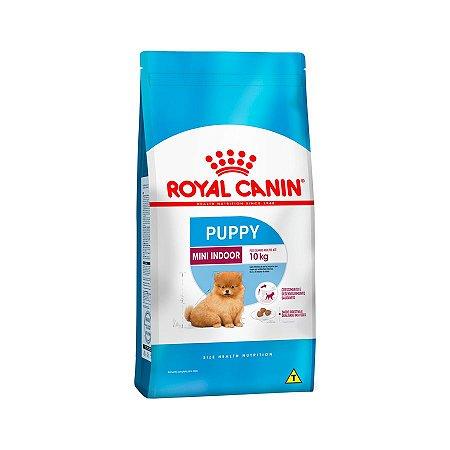 Royal Canin Mini Indoor Junior 1,0Kg - Cães Filhotes