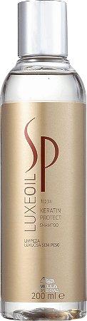 Shampoo Wella SP Luxe Oil Keratin Protect 200ml