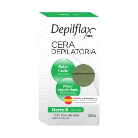 Cera quente Depilflax Hortela 250g