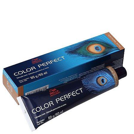 Tintura Color Perfect Wella 6/0 Louro Escuro