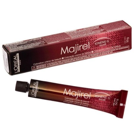 Tintura Loreal Majirel 6.66 Louro Escuro Vermelho Profundo 50g