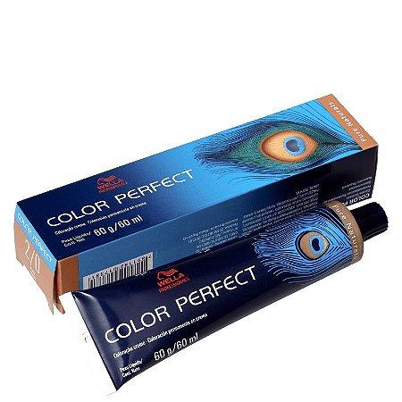 Tintura Color Perfect Wella 2/0 Preto