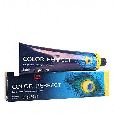 Tintura Color Perfect Wella 5/1 Castanho Claro Acinzentado