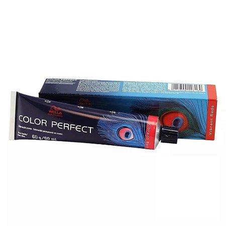 Tintura Color Perfect Wella 7/4 Louro Médio Avermelhado