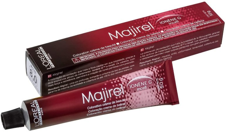 Tintura Loreal Majirel 8.0 Louro Claro Natural Profundo 50g