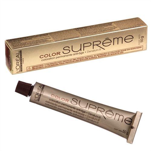 Tintura Loreal Color Supreme 7.34 Conhaque 50g