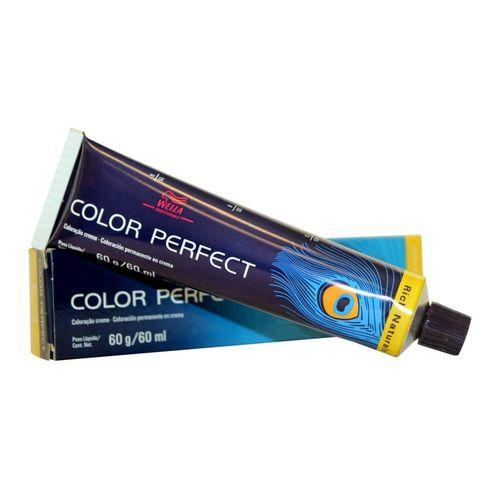 Tintura Color Perfect Wella 9/0 Louro Ultraclaro