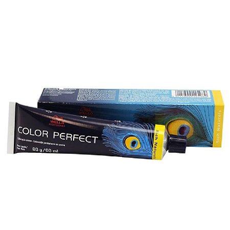 Tintura Color Perfect Wella 7/3 Louro Médio Dourado