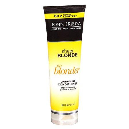 Condicionador John Frieda Go Blonder Lightening 245ml