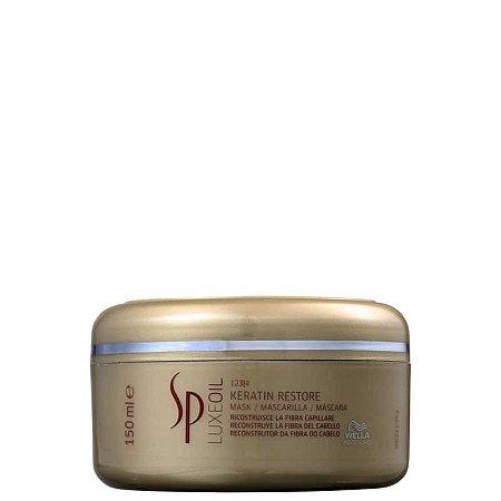 Mascara de Tratamento Wella Sp Luxe Oil Keratin Restore 150ml