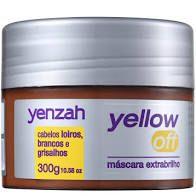 Mascara de Tratamento Yenzah Yellow Off Extra Brilho 300g