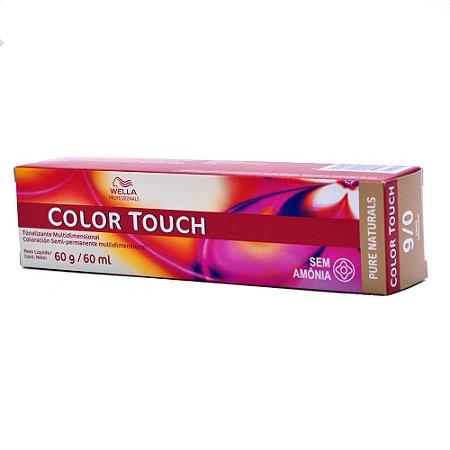 Tonalizante Color Touch Wella 9/0 Louro Ultraclaro