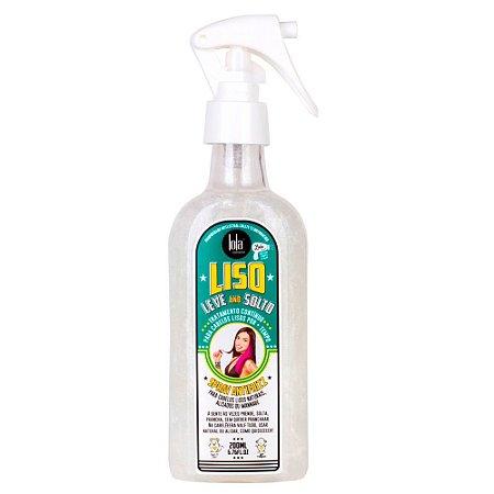 Spray Anifrizz Lola Cosmetics Liso Leve e Solto 200ml