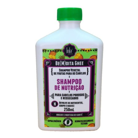 Shampoo Lola Be(m)dita Ghee Abacaxi e Manteiga de Bacuri 250ml