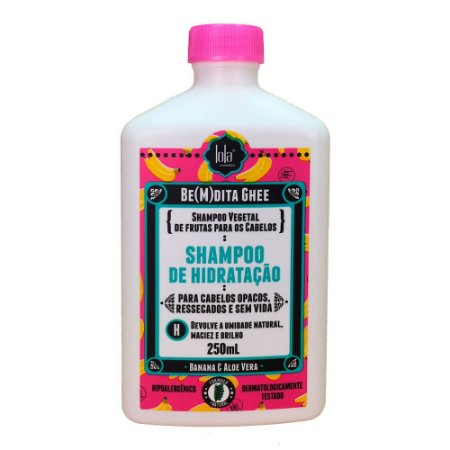 Shampoo Lola Be(m)dita Ghee Banana e Aloe Vera 250ml