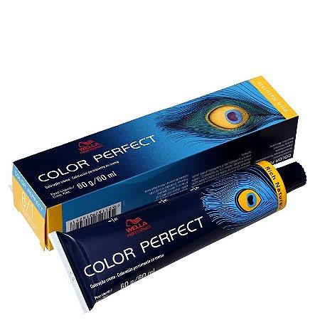 Tintura Color Perfect Wella 8/1 Louro Claro Acinzentado