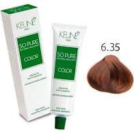 Tintura Keune So Pure Color 6.35 Louro Escuro Chocolate 60ml
