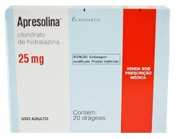 Apresolina 25 mg 20 drágeas