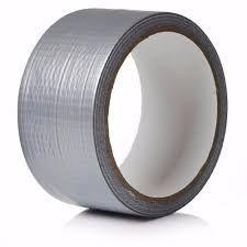 Fita Silver tape Cinza 45x5mt