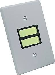 Interruptor Embutir C/ Placa Cz - 2 Teclas