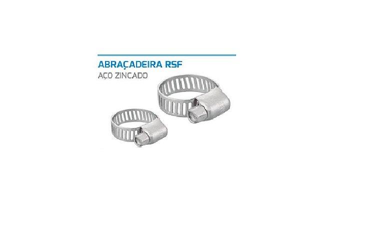 Abraçadeira RFS 8MM 1/2 X3/4 Aço Zincado