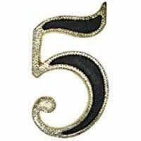 Numero Residencial Zamac Nº 5