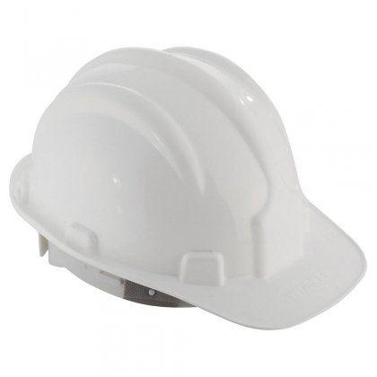 Capacete Proteção c/ Carneira Branco