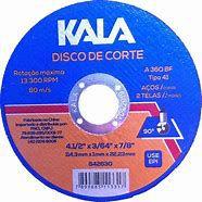Disco Corte Fino Aço e Aço Inox 4P 115X1,0X22 - Disflex