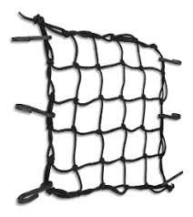 Rede de Capacete 45X45 Preta