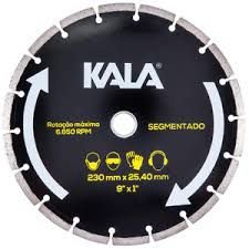 Disco Diamantado Segmentado 7 Polegadas 180X25,4MM - Kala